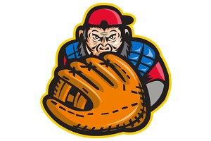 Chimpanzee Baseball Catcher Glove