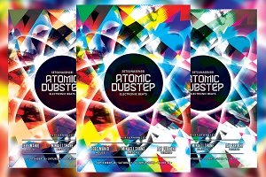 Atomic Dubstep Flyer