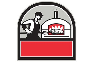 Pizza Cook Peel Wood Fired Oven