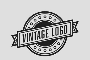 The Vintage Logo Template PSD