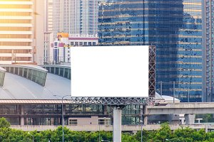 billboard for advertisement