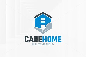 Care Home Logo Template