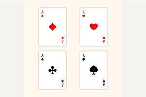Aces Playing Cards.