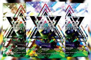Electro Dubstep Flyer
