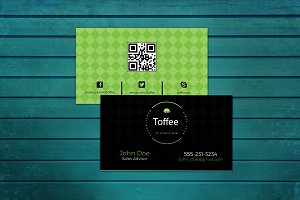 Black&Green Business Card