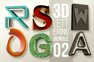 3D Lettering Mega Bundle 2