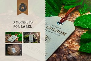 Mock-Up Label Vol.1