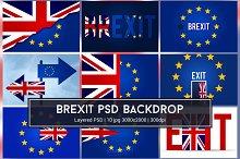 Brexit PSD Backdrop