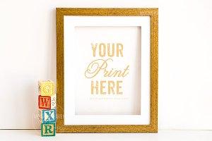Nursery 8x10 Print Frame Mockup