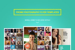 Promo Photography Flyer Templates