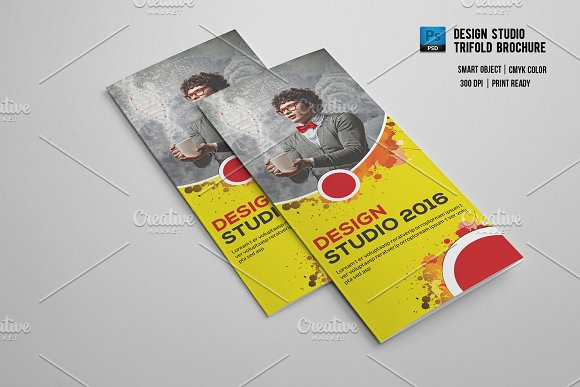 design studio brochure - design studio trifold brochure v552 brochure templates