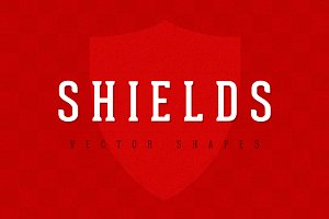 Shields - Vector Shapes Set