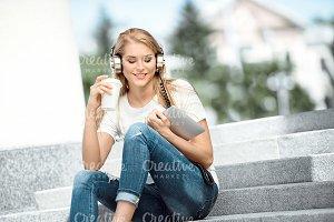 Music, coffee and wi-fi.