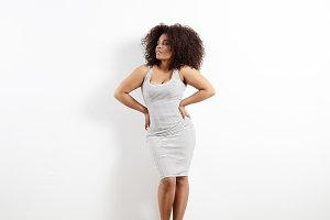 beauty plus size model