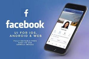NEW Facebook UI Kit