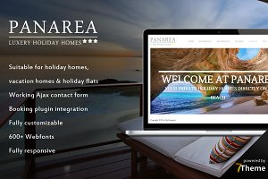 Panarea - Holiday House WP Theme
