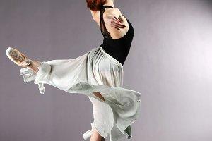 Ballerina in Pirouette Pose