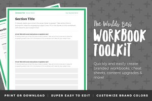 Workbook Toolkit - Volume One