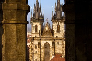 Tyn Cathedral in Prague