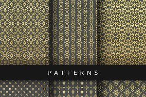 Luxury design elements pattern