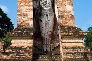 Buddha Monument in Sukhothai