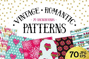 70 Valentine's Day Seamless Patterns