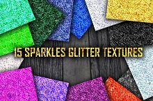 15 Sparkle Glitter Textures