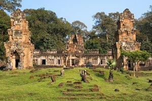 Prasat Suor Temple in Angkor Thom