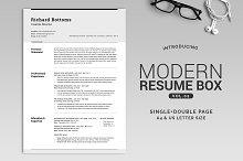 All in One Modern Resume Box V.2
