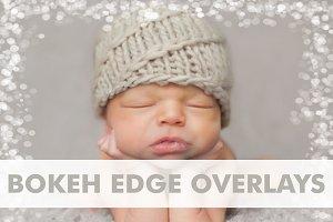 Transparent Bokeh Edge Overlays