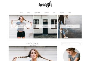 NOURISHING WORDPRESS THEME