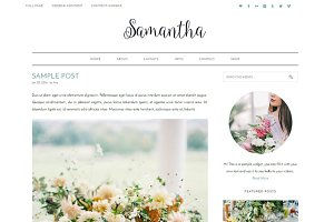 SAMANTHA WORDPRESS THEME