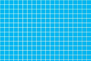 Five millimeters square white grid
