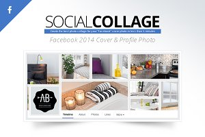 Social Collage | Facebook 2014 Cover