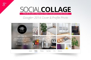 Social Collage | Google+ Cover Photo