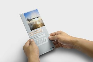 Trifold-Brochure IIFLY Template