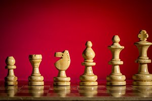 Black and yellow chess