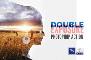 Double Exposure | Photoshop Action