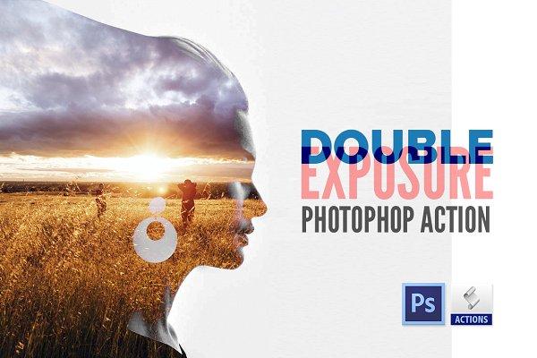 Double Exposure | Photoshop Action
