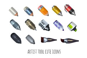 Drawing tools icons