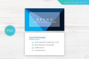 Modern Business Card Template Vol-04