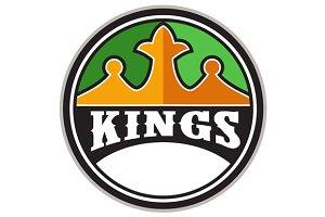 King Crown Kings Circle Retro