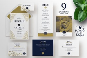 Wedding Invitation Suite - Isabella