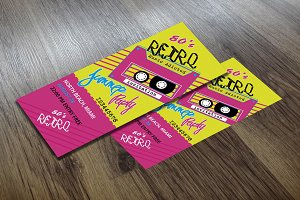 Ticket Retro Summer Party