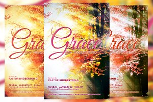 Grace Awakening Church Flyer