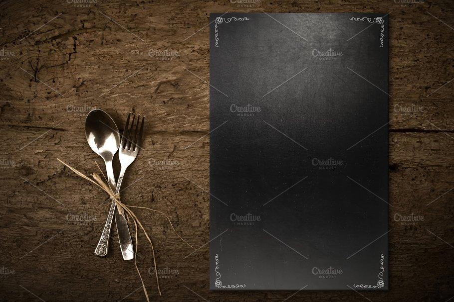 vintage chalkboard template menu food images creative market