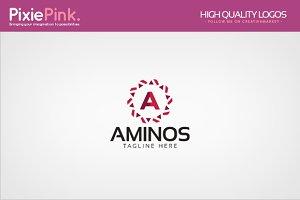Aminos Logo Template