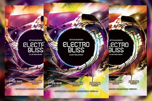 Electro Bliss Flyer