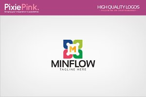Mini Flow Logo Template