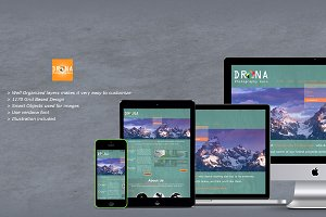 Drona - Photography PSD Templates